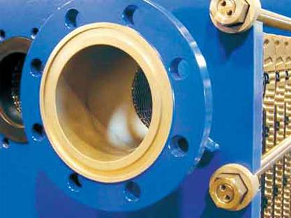 激光半焊型版式换热器
