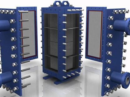 半焊接板式换热器