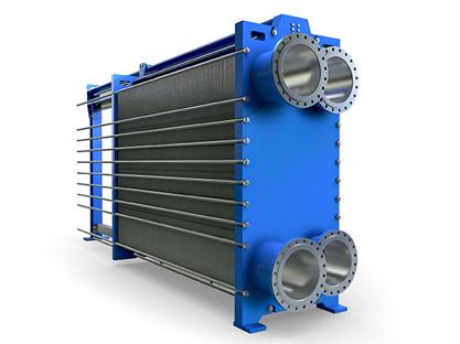 宽流道板式换热器
